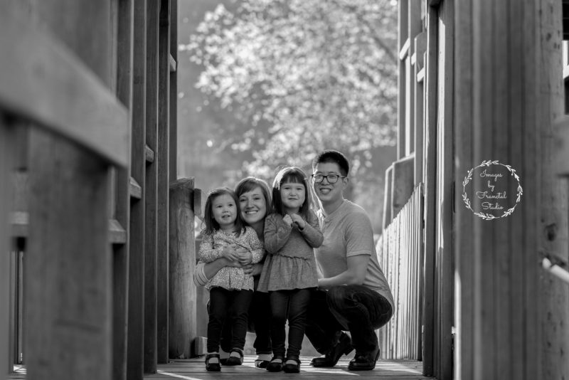 Franctal Studio- Cherry Blossom Family pictures-Fort Langley BC